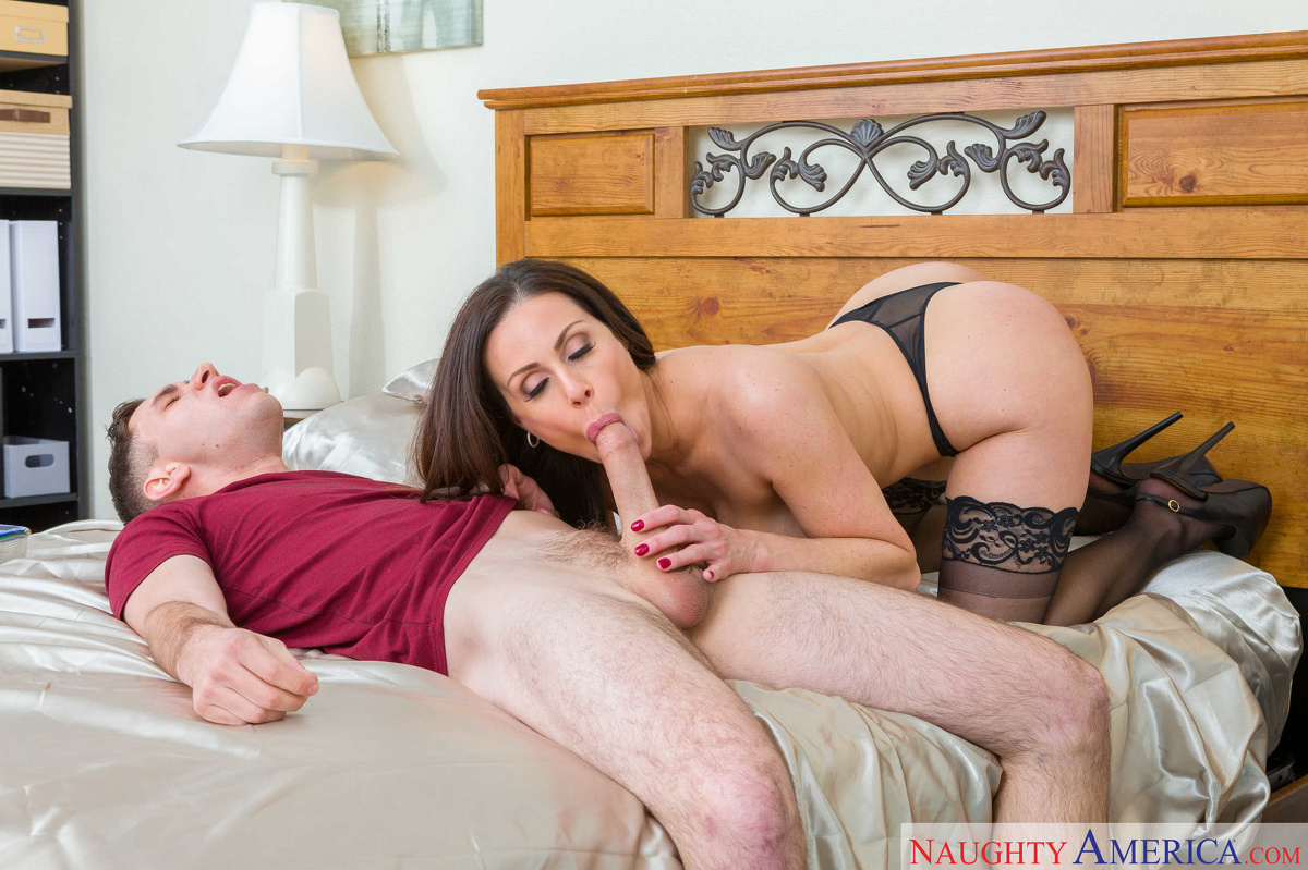 Kendra Lust In It's A Milf Threesome With Two Sexy Milfs Taking On Young Cock